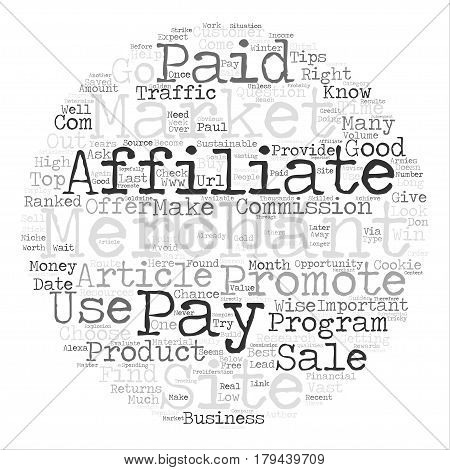 Top Tips For Affiliates Choose Your Merchant Wisely text background word cloud concept
