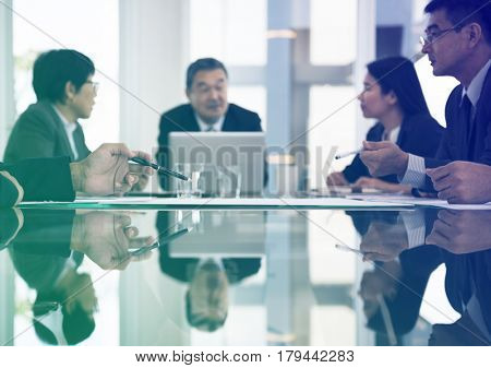 Business people meeting in the office