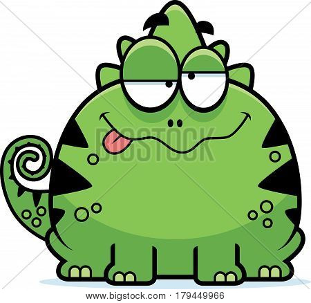 Intoxicated Little Lizard