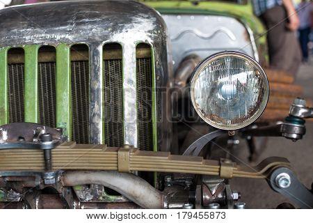 Unusual Kustom kulture fest car retro vintage style
