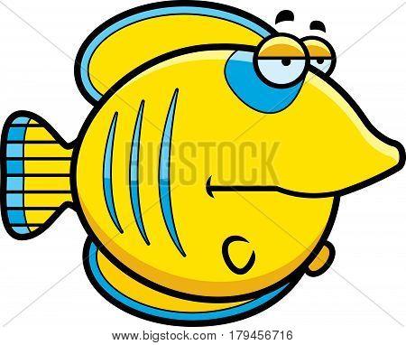 Bored Cartoon Butterflyfish