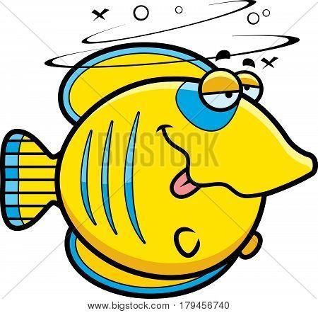 Cartoon Drunk Butterflyfish