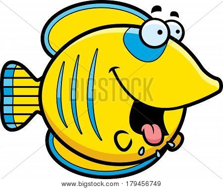 Hungry Cartoon Butterflyfish