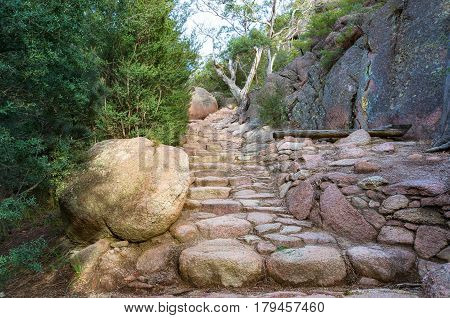 Rock Path, Walkway Stairs