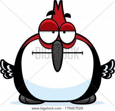 Bored Little Woodpecker