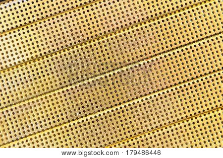 Perforated Metallic Background
