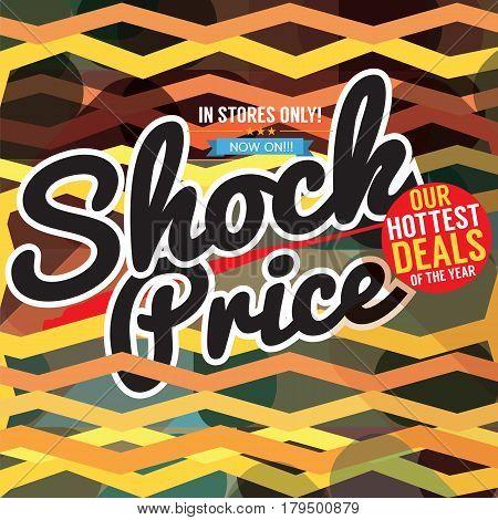 Super Sale Hottest Deal Promotion Sale Banner Vector Illustration. EPS 10