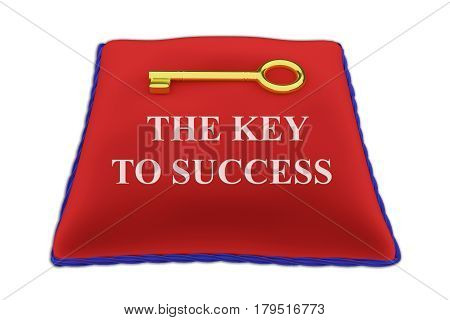The Key To Success Concept