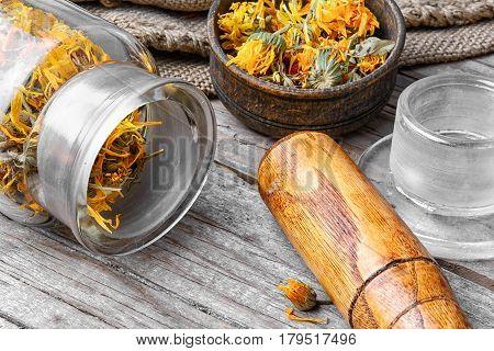 Alternative Medicinal Calendula