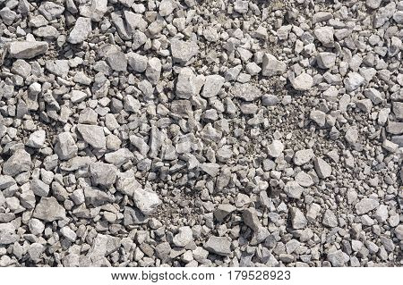Abstract background from crushed stones for design