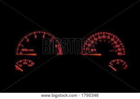 Dashboard Instrument Panel