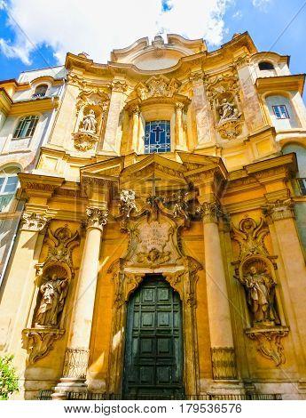 Church Santa Maria Maddalena, Rome at Italy