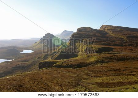 Quiraing, Isle of Skye, Scottish Highlands