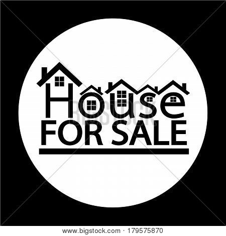 an images of Or pictogram Home For Sale icon