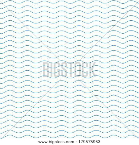 wavy line pattern vector illustration. wavy line. wavy pattern. Geometric blue pattern. Seamless background. Abstract texture for Wallpapers. Repeating geometric light wave. minimalism grey on white.