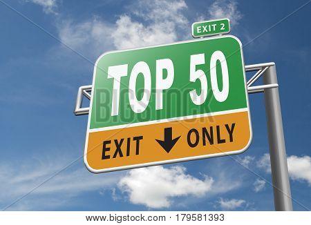 Top 50 Cahrt
