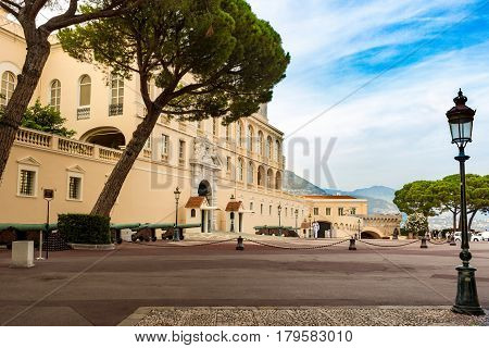 Prince S Palace Of Monaco