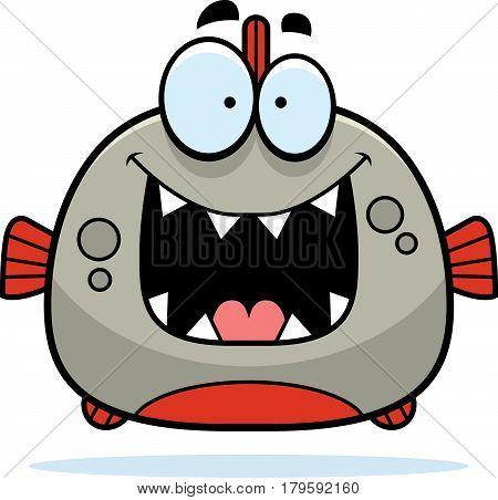 Happy Little Piranha