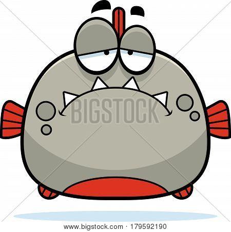 Sad Little Piranha