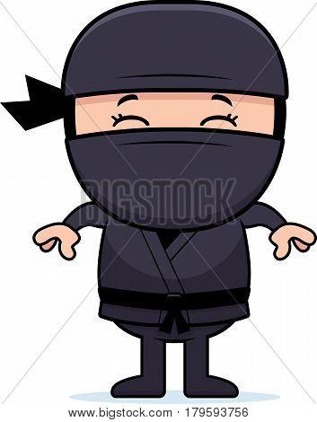 Cartoon Little Ninja