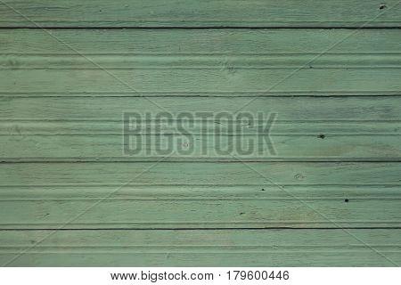 Green wooden back ground texture horizontal slats