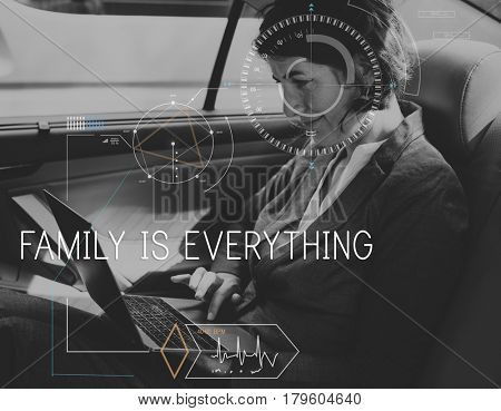 Family Is Everything Parents Relationship Quote