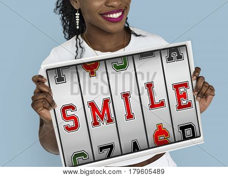 Slot Machine Gamble Happy Dream Smile