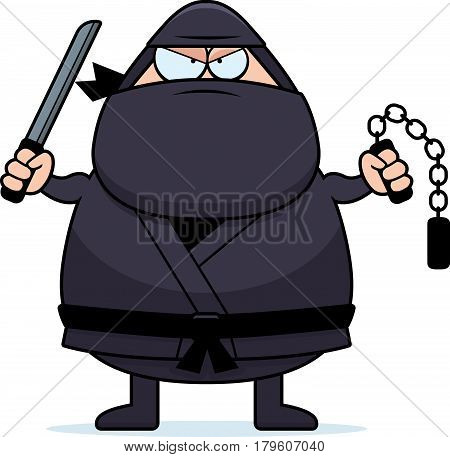 Cartoon Ninja Weapons
