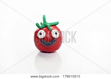 Vegetables Made From Plasticine.
