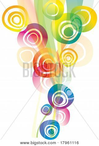 Vector Background With Abstract Shapes
