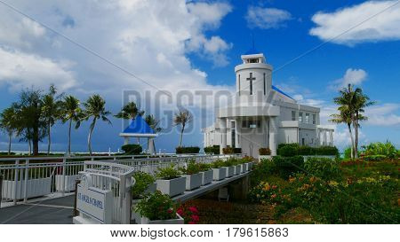 St.Angelo Chapel, Saipan St. Angelo Chapel in San Roque, Saipan is a favorite venue of couples for weddings