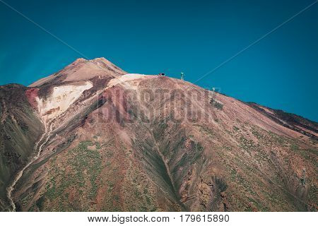 Volcano El Teide in National Park of Tenerife island, Canary Islands, Spain