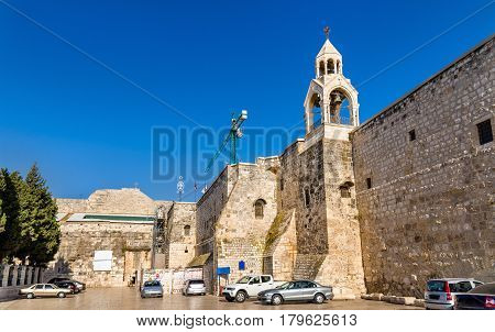 The Church of the Nativity in Bethlehem, Palestine