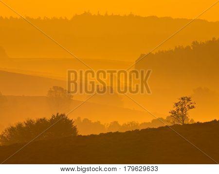 Sunrise Over Posbank