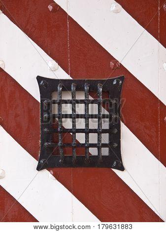 Grid Castle Door
