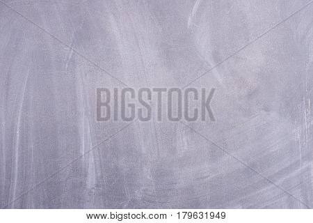 Black school board with Cretaceous divorce. Horizontal background board