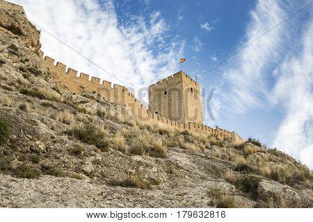 Ancient Castle of Sax - province of Alicante - Spain