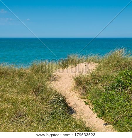 Beach, Dune, Sea View
