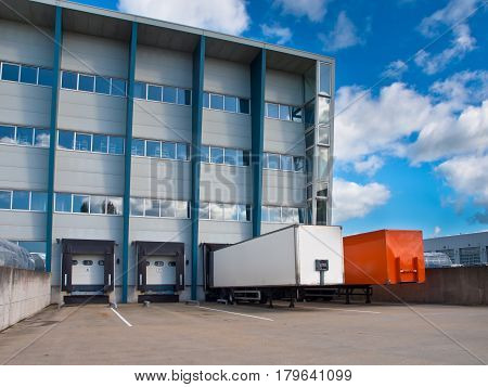 Transportation Center With Trailers
