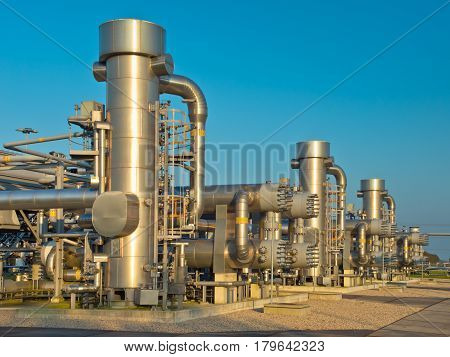 A Modern Natural Gas Processing Plant