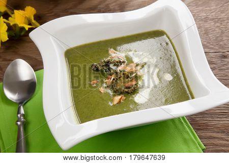 Kale-potato Soup With Almond