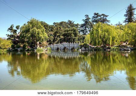Chinese Garden At The Huntington Botanical Gardens