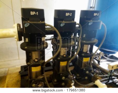 Blurred Photo, Blurry Image, Pump Booster Fire Control System, Background