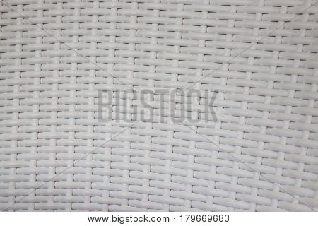 Plastic Woven Basket Texture Background stock photo