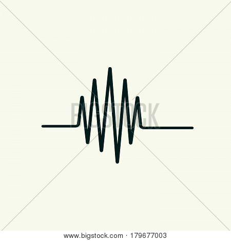 electrocardiogram vector , Vector Illustration heart rhythm ekg .vector