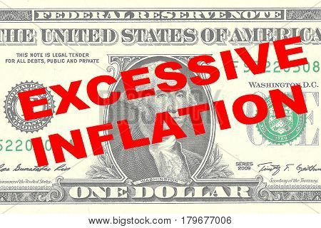Excessive Inflation - Financial Concept