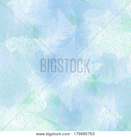 Light blue spotted background with speckles. Vector illustration