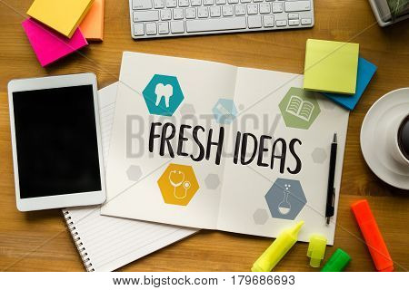 Fresh Ideas Ideas Design Innovation Think Objective Strategy , New Fresh , Innovative Business Innov