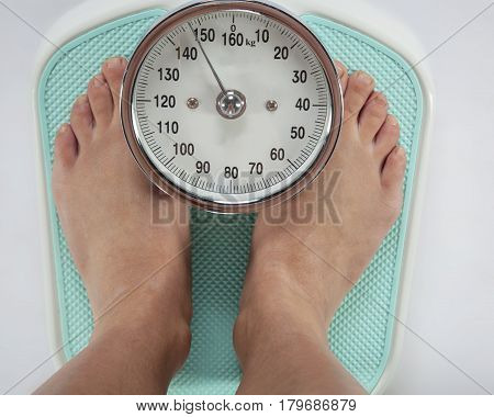 Legs On Weight, Overweight