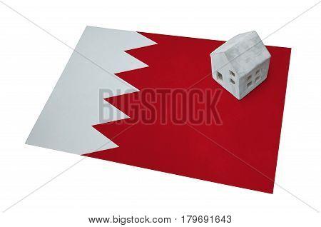 Small House On A Flag - Bahrain